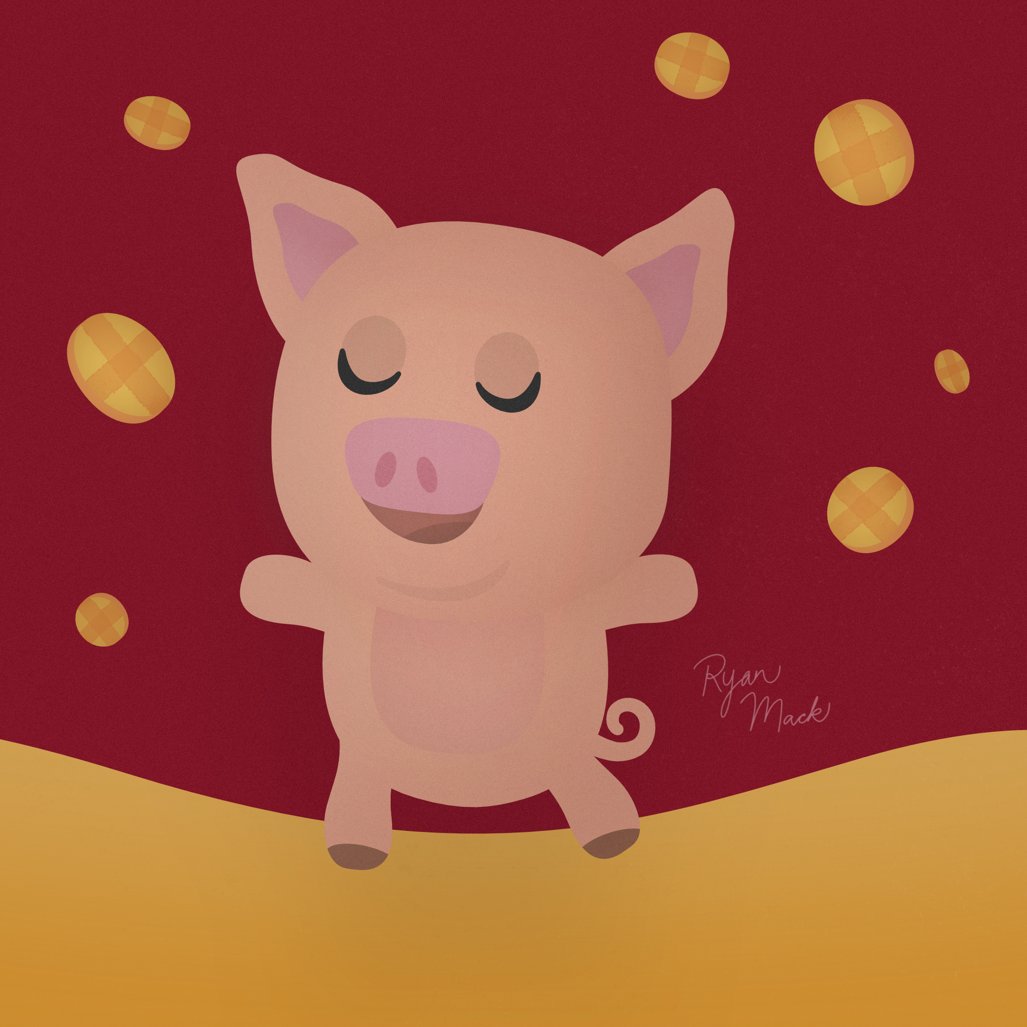 Lunar New Year Pig